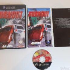 Videojuegos y Consolas: BURNOUT NINTENDO GAMECUBE. Lote 221318411