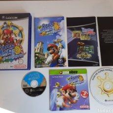 Videojuegos y Consolas: SUPER MARIO SUNSHINE + GUIA DVD NINTENDO GAMECUBE. Lote 221318598