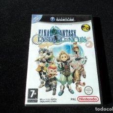 Videojuegos y Consolas: FINAL FANTASY CRYSTAL CHRONICLES PARA NINTENDO GAME CUBE. Lote 221354523