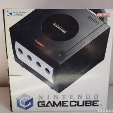 Videogiochi e Consoli: CONSOLA SOBREMESA NINTENDO GAMECUBE NEGRA COMPLETA. Lote 221474045