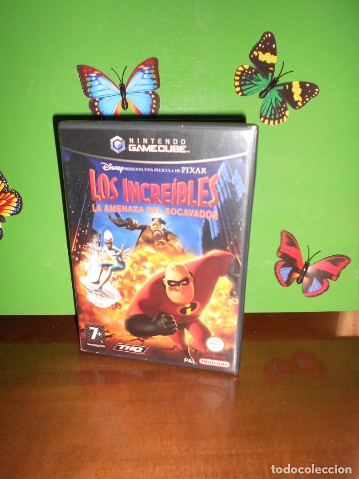 LOS INCREIBLES LA AMENAZA DEL SOCAVADOR - GAMECUBE / NINTENDO (Juguetes - Videojuegos y Consolas - Nintendo - Gamecube)