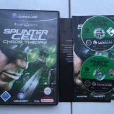 Videojuegos y Consolas: TOM CLANCY SPLINTER CELL CHAOS THEORY NGC NINTENDO GAMECUBE GAME CUBE GC KREATEN. Lote 221715495