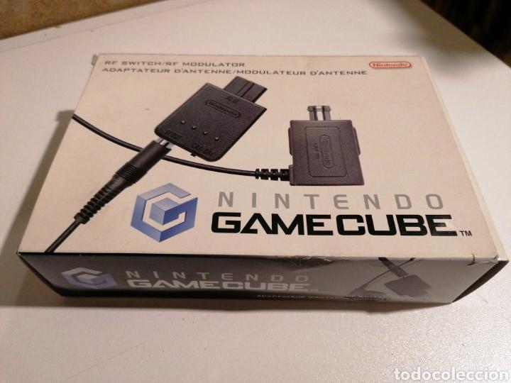 NINTENDO GAMECUBE ADAPTADOR DE ANTENA RF MODULATOR (Juguetes - Videojuegos y Consolas - Nintendo - Gamecube)