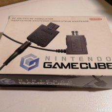 Videojuegos y Consolas: NINTENDO GAMECUBE ADAPTADOR DE ANTENA RF MODULATOR. Lote 230431965