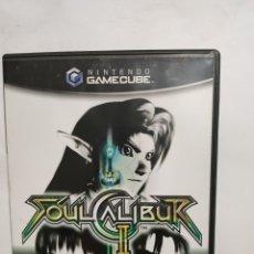 Videojuegos y Consolas: CUBEREF.1 SOUL CALIBUR II JUEGO GAME CUBE SEGUNDAMANO. Lote 236124620