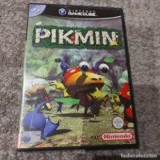 Videojuegos y Consolas: NINTENDO GAME CUBE PIKMIN PAL ESPAÑA **SEMINUEVO**. Lote 237486765