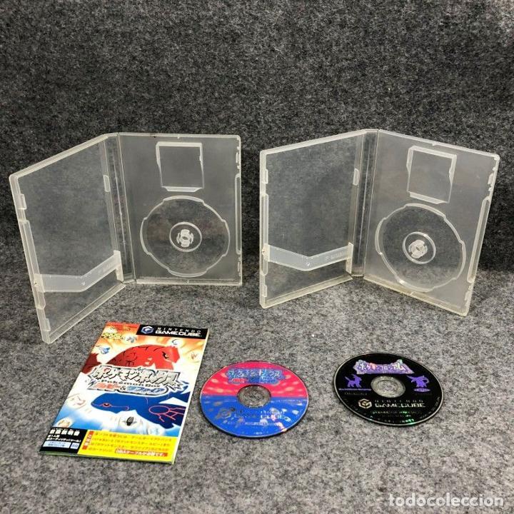 POKEMON BOX RUBI Y ZAFIRO+POKEMON COLOSSEUM NINTENDO GAME CUBE (Juguetes - Videojuegos y Consolas - Nintendo - Gamecube)