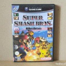 Videojuegos y Consolas: JUEGO NINTENDO GAMECUBE - PAL / ESP - SUPER SMASH BROSS MELEE - COMPLETO - NINTENDO GAME CUBE. Lote 240672260