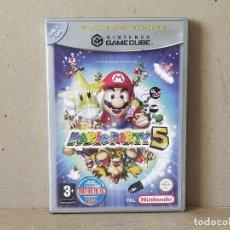 Videojuegos y Consolas: JUEGO NINTENDO GAMECUBE - PAL / ESP - MARIO PARTY 5 - COMPLETO - NINTENDO GAME CUBE. Lote 241065065