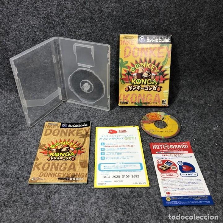 Videojuegos y Consolas: DONKEY KONGA+BONGOS NINTENDO GAME CUBE - Foto 5 - 254547560