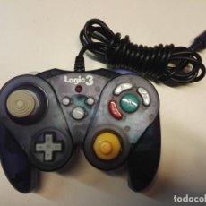 Videojuegos y Consolas: MANDO PARA GAMECUBE - COMPATIBLE - COLOR AZUL TRANSPARENTE. Lote 243577705