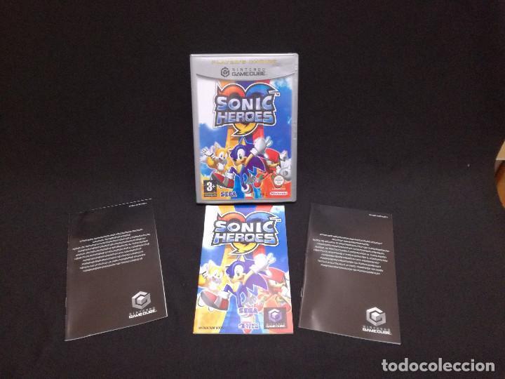 VIDEOJUEGO NINTENDO GAMECUBE - SONIC HEROES (IDIOMA INGLES, SUBTITULOS EN ESPAÑOL) (Juguetes - Videojuegos y Consolas - Nintendo - Gamecube)