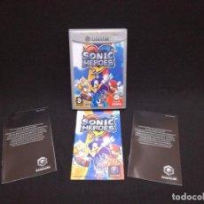 Videojuegos y Consolas: VIDEOJUEGO NINTENDO GAMECUBE - SONIC HEROES (IDIOMA INGLES, SUBTITULOS EN ESPAÑOL). Lote 243579595