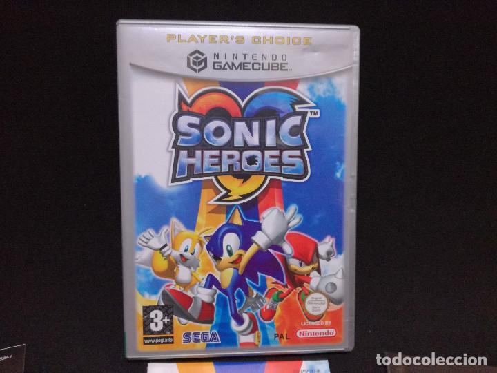 Videojuegos y Consolas: VIDEOJUEGO NINTENDO GAMECUBE - SONIC HEROES (IDIOMA INGLES, SUBTITULOS EN ESPAÑOL) - Foto 2 - 243579595