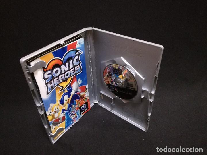 Videojuegos y Consolas: VIDEOJUEGO NINTENDO GAMECUBE - SONIC HEROES (IDIOMA INGLES, SUBTITULOS EN ESPAÑOL) - Foto 3 - 243579595