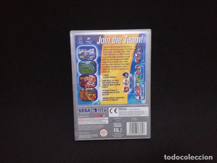 Videojuegos y Consolas: VIDEOJUEGO NINTENDO GAMECUBE - SONIC HEROES (IDIOMA INGLES, SUBTITULOS EN ESPAÑOL) - Foto 4 - 243579595