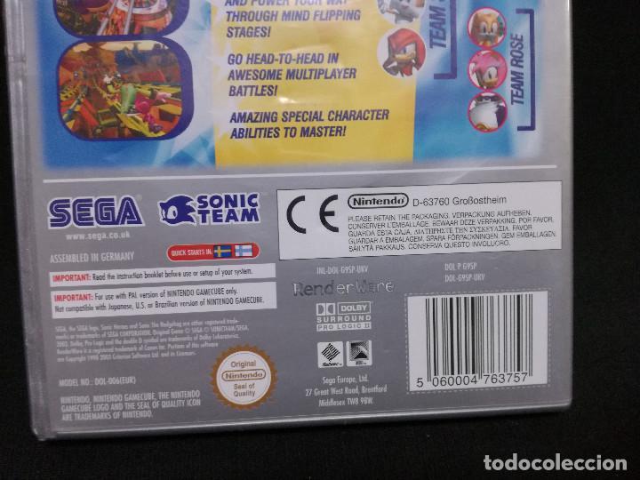 Videojuegos y Consolas: VIDEOJUEGO NINTENDO GAMECUBE - SONIC HEROES (IDIOMA INGLES, SUBTITULOS EN ESPAÑOL) - Foto 5 - 243579595