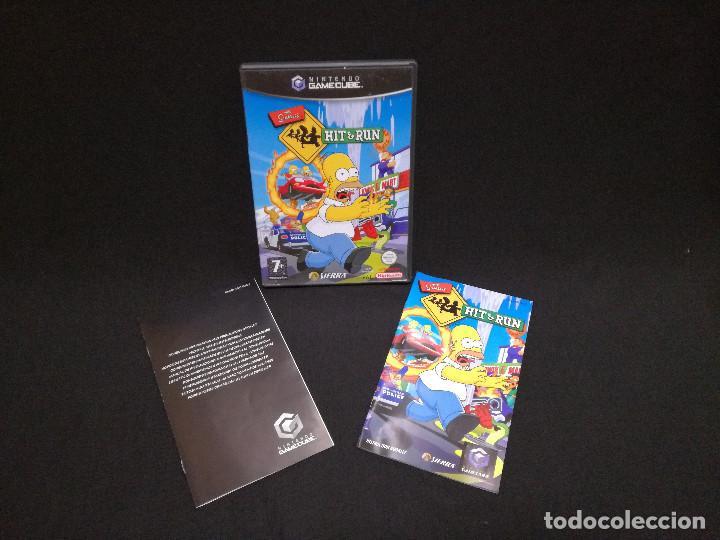 VIDEOJUEGO NINTENDO GAMECUBE - THE SIMPSONS HIT AND RUN (IDIOMA INGLES) (Juguetes - Videojuegos y Consolas - Nintendo - Gamecube)