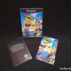 Videojuegos y Consolas: VIDEOJUEGO NINTENDO GAMECUBE - THE SIMPSONS HIT AND RUN (IDIOMA INGLES). Lote 243580415