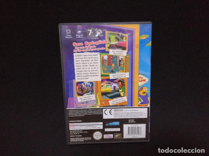 Videojuegos y Consolas: VIDEOJUEGO NINTENDO GAMECUBE - THE SIMPSONS HIT AND RUN (IDIOMA INGLES) - Foto 4 - 243580415
