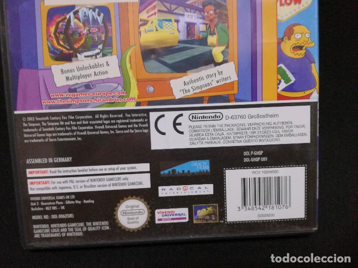 Videojuegos y Consolas: VIDEOJUEGO NINTENDO GAMECUBE - THE SIMPSONS HIT AND RUN (IDIOMA INGLES) - Foto 5 - 243580415