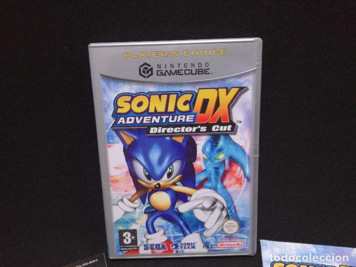 Videojuegos y Consolas: VIDEOJUEGO NINTENDO GAMECUBE - SONIC ADVENTURE DX (IDIOMA INGLES, SUBTITULOS ESPAÑOL) - Foto 2 - 243580990