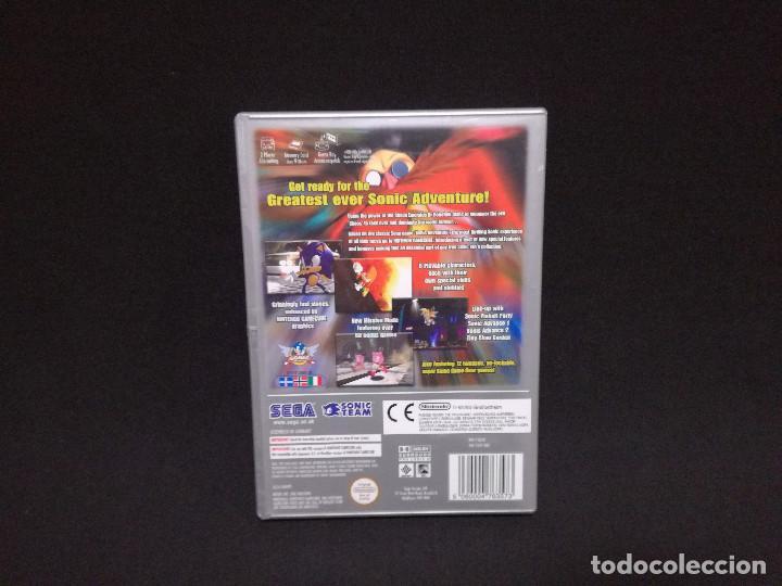 Videojuegos y Consolas: VIDEOJUEGO NINTENDO GAMECUBE - SONIC ADVENTURE DX (IDIOMA INGLES, SUBTITULOS ESPAÑOL) - Foto 4 - 243580990