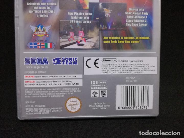 Videojuegos y Consolas: VIDEOJUEGO NINTENDO GAMECUBE - SONIC ADVENTURE DX (IDIOMA INGLES, SUBTITULOS ESPAÑOL) - Foto 5 - 243580990