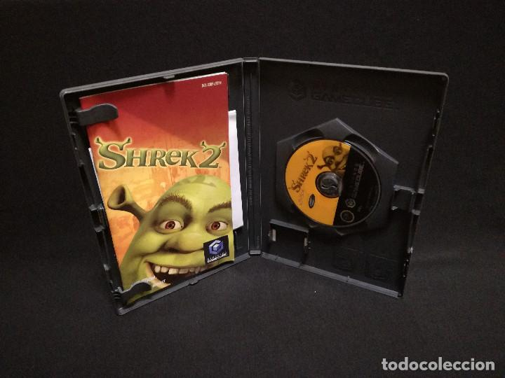 Videojuegos y Consolas: VIDEOJUEGO NINTENDO GAMECUBE - SHREK 2 (IDIOMA INGLES) - Foto 3 - 243581575