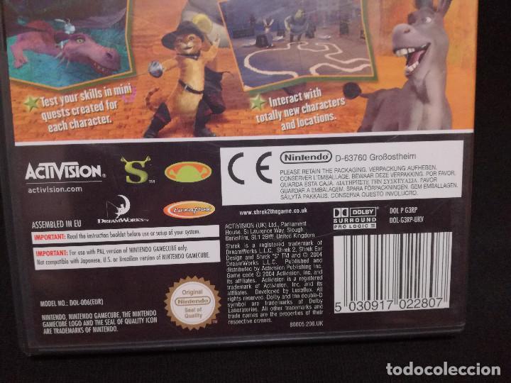 Videojuegos y Consolas: VIDEOJUEGO NINTENDO GAMECUBE - SHREK 2 (IDIOMA INGLES) - Foto 5 - 243581575