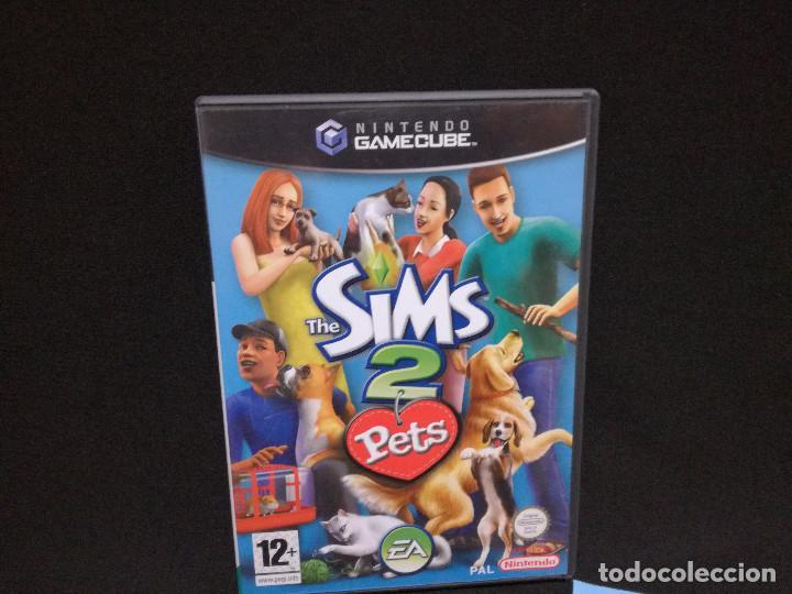 Videojuegos y Consolas: VIDEOJUEGO NINTENDO GAMECUBE - THE SIMS 2 PETS (IDIOMA INGLES) - Foto 2 - 243581670