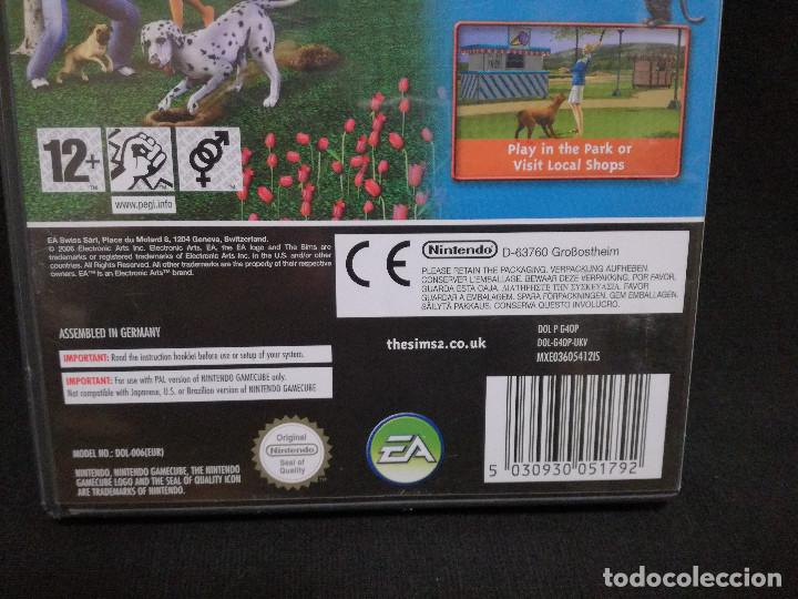 Videojuegos y Consolas: VIDEOJUEGO NINTENDO GAMECUBE - THE SIMS 2 PETS (IDIOMA INGLES) - Foto 5 - 243581670