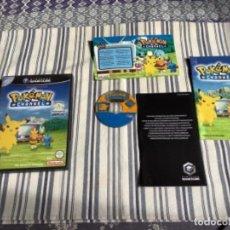Videojuegos y Consolas: JUEGO GAMECUBE GAME CUBE POKEMON CHANNEL COMPLETO. Lote 244593330
