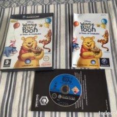 Videojuegos y Consolas: JUEGO GAMECUBE GAME CUBE WINNIE THE POOH COMPLETO. Lote 244595040