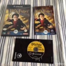 Videojuegos y Consolas: JUEGO GAMECUBE GAME CUBE HARRY POTTER LA CÁMARA SECRETA. Lote 244598535