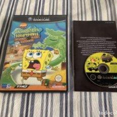Videojuegos y Consolas: JUEGO GAMECUBE GAME CUBE BOB ESPONJA REVENGE OF THE FLYING DUTCHMAN ( SIN MANUAL ). Lote 244598770