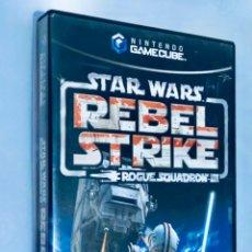 Videojuegos y Consolas: STAR WARS REBEL STRIKE ROGUE SQUADRON III [NINTENDO] [2003] [GAMECUBE] FACTOR 5 LUCASARTS [ESPAÑOLA]. Lote 245283705