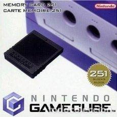 Videojuegos y Consolas: MEMORIA 251 BLOQUES GAME CUBE / WII. Lote 245925480