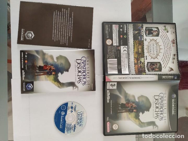 UNA SERIE CATASTROFICAS DESDICHAS NINTENDO GAMECUBE COMPLETO PAL-ESPAÑA (Juguetes - Videojuegos y Consolas - Nintendo - Gamecube)