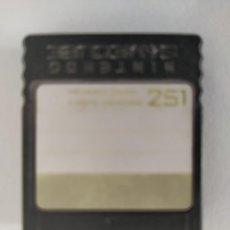 Videojuegos y Consolas: TARJETA MEMORIA MEMORY CARD NINTENDO GAMECUBE ORIGINAL. Lote 276494338