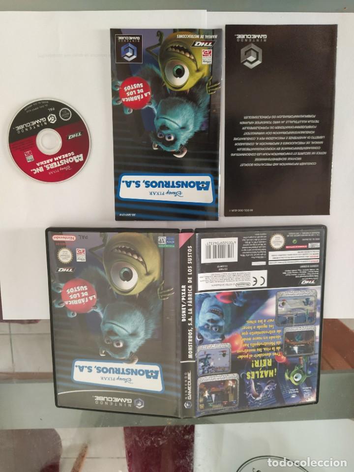 MONSTRUOS S.A. NINTENDO GAMECUBE COMPLETO PAL-ESPAÑA (Juguetes - Videojuegos y Consolas - Nintendo - Gamecube)