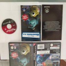Videogiochi e Consoli: MONSTRUOS S.A. NINTENDO GAMECUBE COMPLETO PAL-ESPAÑA. Lote 246203355