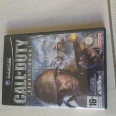 Videojuegos y Consolas: CALL OF DUTY GAMECUBE NINTENDO COMPLETO PAL-ESPAÑA. Lote 246205140