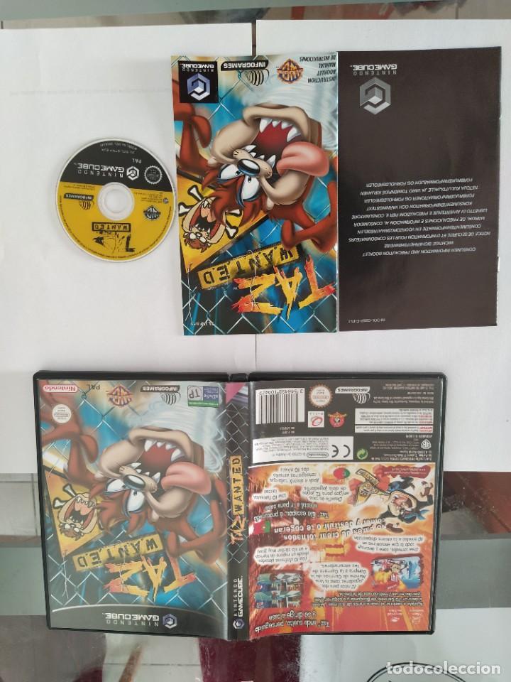 TAZ WANTED . NINTENDO GAMECUBE COMPLETO PAL-ESPAÑA (Juguetes - Videojuegos y Consolas - Nintendo - Gamecube)
