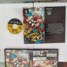 Videogiochi e Consoli: TAZ WANTED . NINTENDO GAMECUBE COMPLETO PAL-ESPAÑA. Lote 246205170