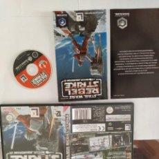 Videogiochi e Consoli: STAR WARS REBEL STRIKE NINTENDO GAMECUBE COMPLETO PAL-ESPAÑA. Lote 246306680