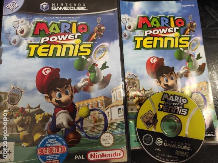 MARIO POWER TENNIS - NINTENDO GAMECUBE - PAL ESP - COMPLETO (Juguetes - Videojuegos y Consolas - Nintendo - Gamecube)