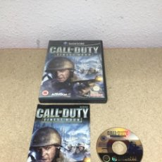 Videojuegos y Consolas: CALL OF DUTY FINEST HOUR GAMECUBE. Lote 254512480