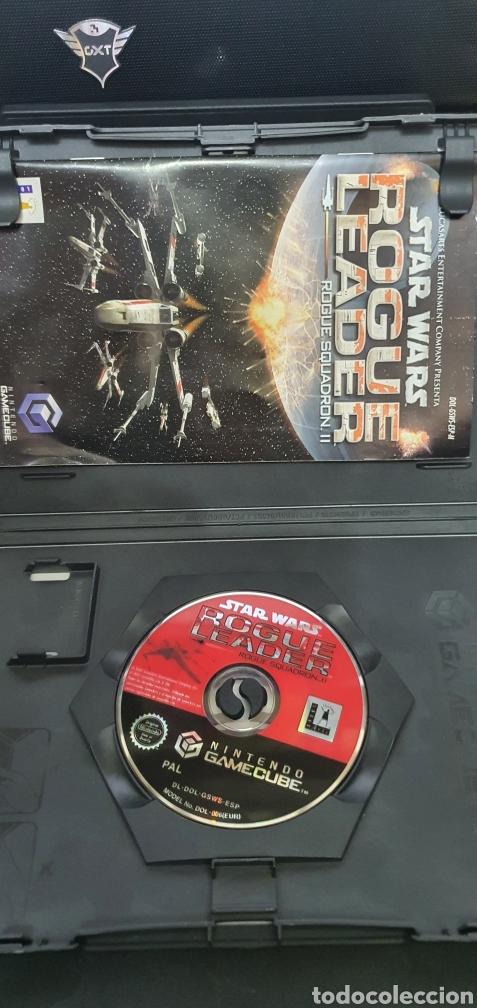 Videojuegos y Consolas: NINTENDO GAMECUBE STAR WARS ROGUE LEADER SQUADRON II - Foto 2 - 255482795