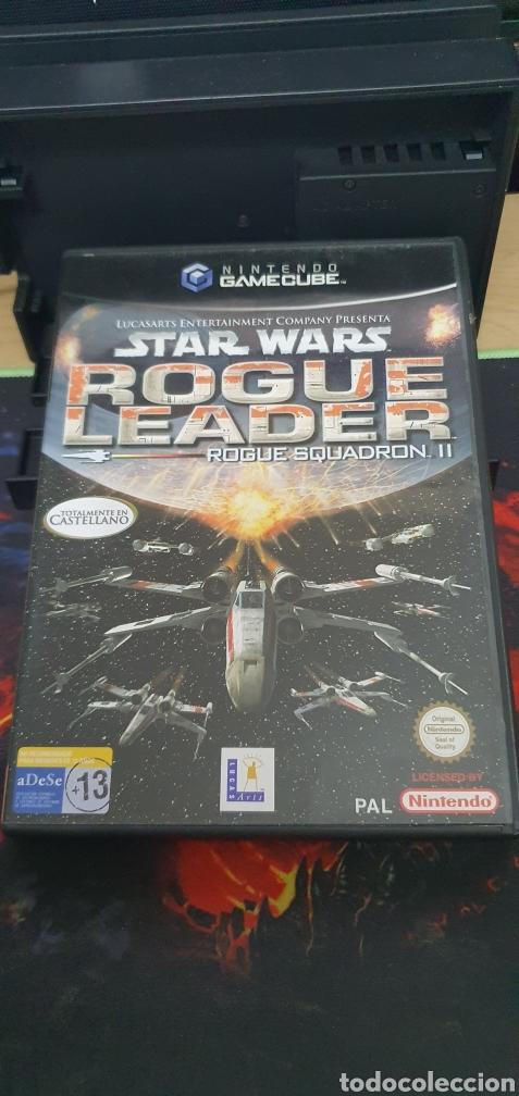 NINTENDO GAMECUBE STAR WARS ROGUE LEADER SQUADRON II (Juguetes - Videojuegos y Consolas - Nintendo - Gamecube)